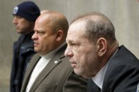 Harvey Weinstein charged in Los Angeles for sex crimes as NY rape trial starts