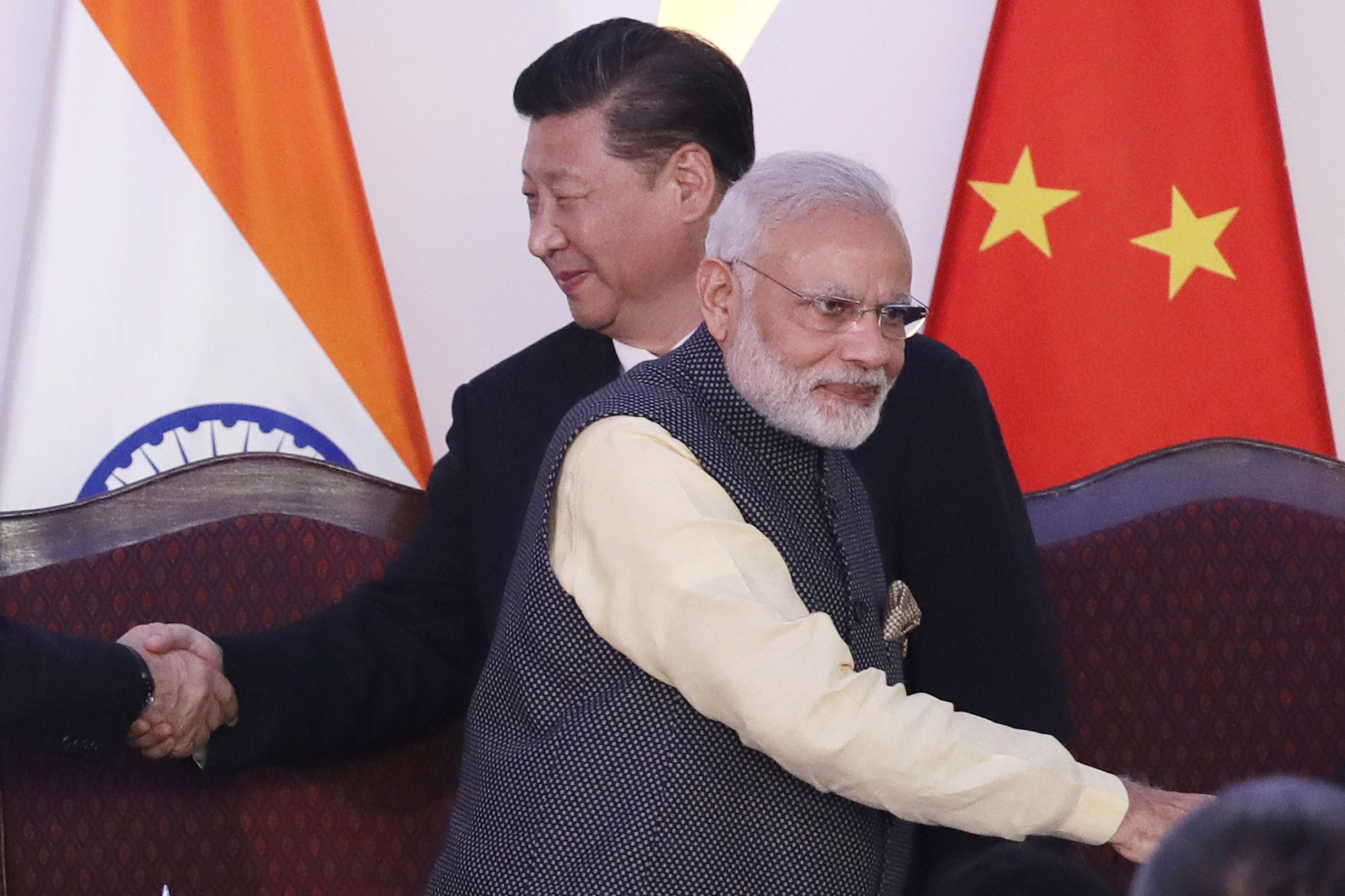 Modi visits military base close to China amid standoff