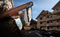 Ski resort abandoned in Olympic shade