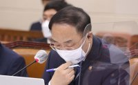 Moon rebuffs finance minister's resignation offer
