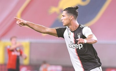 Ronaldo's rocket powers Juventus to 3-1 win at Genoa