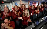 NASA exploration rover lands on Mars