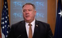 Pompeo discusses COVID-19 with Kang, other top diplomats