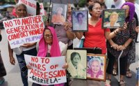 Victims of Japan's wartime sex slavery in Philippines demand formal apology