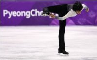 Male figure skater Cha Jun-hwan ranks 15th in PyeongChang