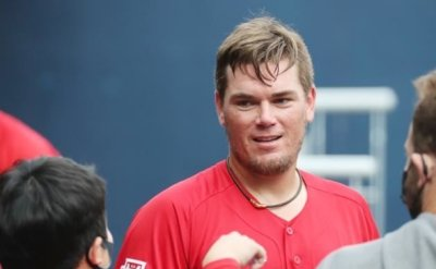 Kia Tigers' Aaron Brooks thanks fans for support for injured son