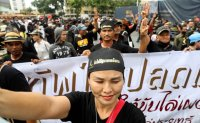 Thai protest brought forward over disruption fears