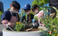 Seoul gardening event brings international families together