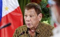 Philippine President Duterte to get COVID-19 vaccine shot in public