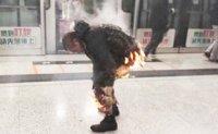 Firebomb attack on Hong Kong MTR train injures 18