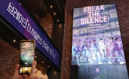 BTS' new documentary film tops box office upon release