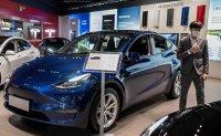 Tesla's sales nearly quadruple in Korea last year