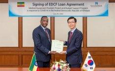 Eximbank finances COVID-19 programs in Ethiopia