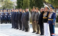 North Korean leader pays respects to fallen Chinese soldiers
