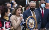US Senate majority leader urges swift passage of anti-hate-crimes act