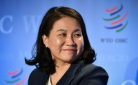 Korea's trade minister confident about her WTO chief bid