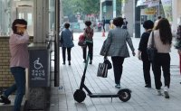 Electric scooter accidents on the rise