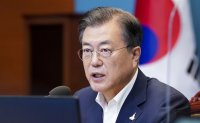 Moon criticized for subdued message toward North Korea