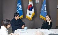 Jolie urges world to protect Yemeni refugees