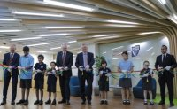 British ambassador celebrates opening of new facilities at Seoul Foreign British School