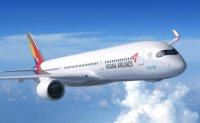 Asiana's San Francisco route to be suspended in March