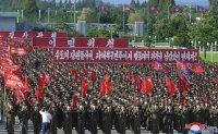 Rally in Pyongyang