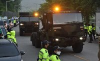 S. Korea, US transport equipment for USFK's THAAD base by ground