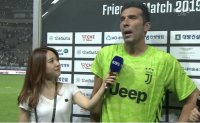 Reporter apologizes for 'unprofessional' interview with Italian footballer