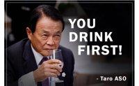 Campaigner urges Japan's deputy PM to drink Fukushima water