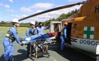 POSCO to mobilize medevac chopper for industrial sites