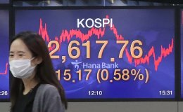KOSPI rewrites all-time record on foreign investors' strong net-buying