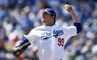 Dodgers' Ryu Hyun-jin earns 5th win vs. Nationals [PHOTOS]