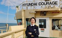 Jun becomes 1st female captain of flag carrying ship