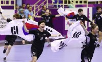 South Korea wins gold in women's handball