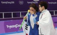 Mature athletes write their own Olympic dramas