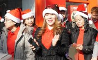 Filipino Xmas festivities mark cash remitter's expansion in Seoul