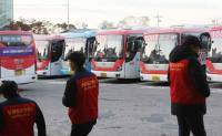 Bus drivers in Goyang launch walkout