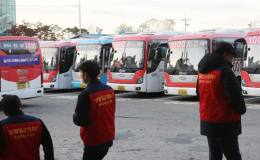 Bus drivers in Goyang launch walkout