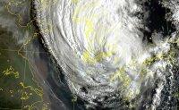 Typhoon Haishen making landfall in Ulsan, disrupting flights, train services