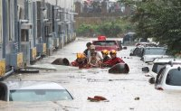 Flooding in Daejeon kills one, damages hundreds of homes and cars [PHOTOS]
