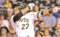 Kang Jung-ho wins starting jobs in Pirates