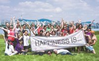 Stella Foundation spreads happiness in Seoul