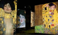 Communications bunker gains new life with Klimt media art