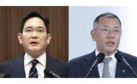 Samsung, Hyundai heirs meet for potential battery partnership