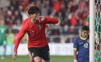 [FB INSIDE] Lee's goal gives Korea labored win over Bolivia