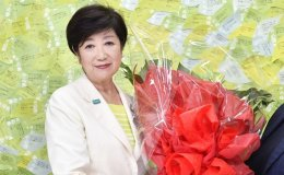 Tokyo governor cruises to 2nd term