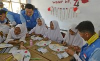 POSCO workers use long service leave to volunteer in Indonesia