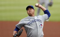 Blue Jays' Ryu Hyun-jin back to himself, earns 1st win of 2020