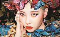 K-pop diva Sunmi dominates music charts with 'Lalalay'