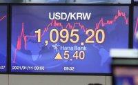 Dollar gaining ground on hopes for new US president
